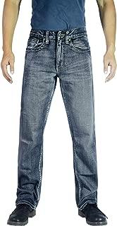 Flypaper Men's Fashion Bootcut Blue Jeans Regular Fit Mens Work Pants
