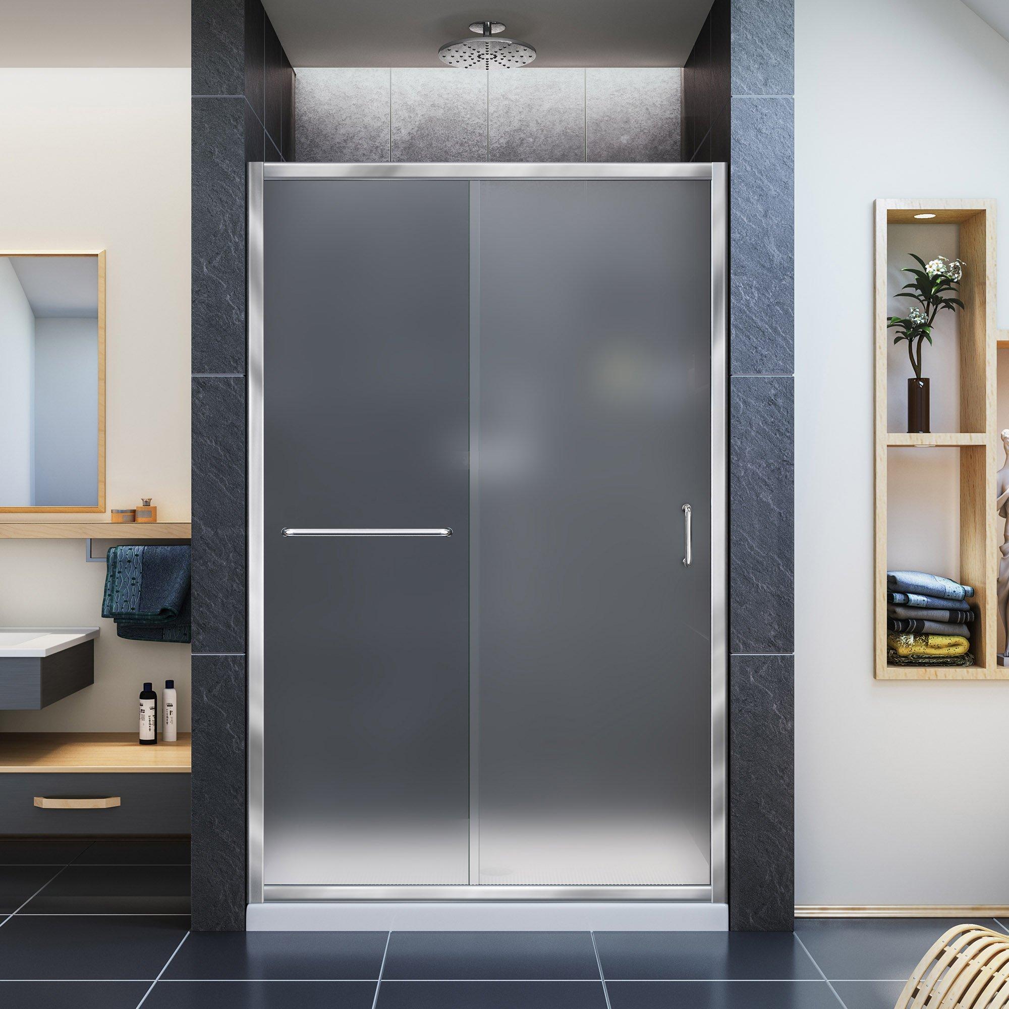 DreamLine Infinity-Z 44 A 48 en. Sin marco deslizante para mampara de ducha: Amazon.es: Bricolaje y herramientas