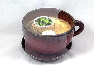 Swan Creek Coffee Mug Scented Candle Large 11 oz (Warm Cinnamon Buns Scent)