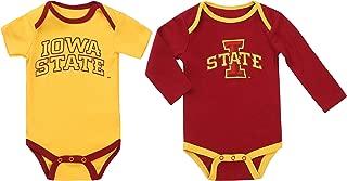 NCAA Iowa State Cyclones 2 pcs Baby Bodysuits