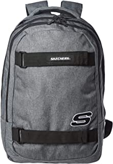 Skechers Fashion Backpack, Unisex - Grey