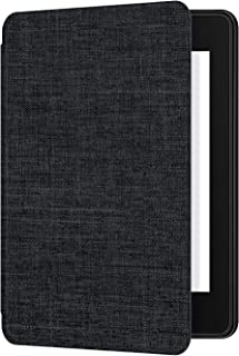 Ayotu Fabric Case for Kindle Paperwhite 2018 - Thinnest&Lightest Smart Cover with Auto Wake/Sleep - Fits Amazon The Latest Kindle Paperwhite(10th Generation-2018),K10 Black