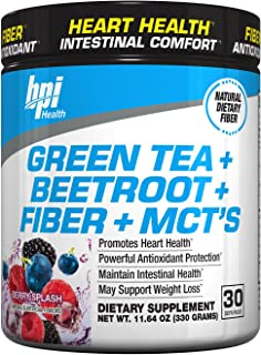 BPI Sports -Green Tea Extract with Beetroot, 30 Servings, Berry Splash,