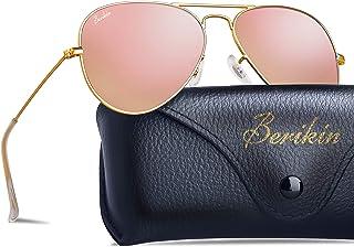 Berikin Classic Aviator Style Sunglasses For Men Women...