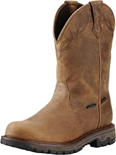 Men's Conquest Round Toe H2O 400g Western Cowboy Boot