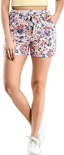 Blushia Women's Printed Boxer Shorts