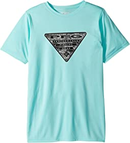 Columbia Kids PFG Triangle Fill Short Sleeve Shirt (Little Kids/Big Kids)