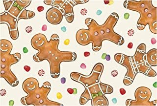 Hester & Cook Paper Placemat, Pad of 30 (Gingerbread Men)