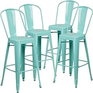 Best mint green bar stools Reviews