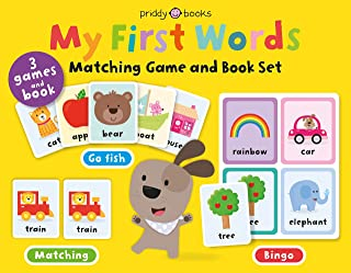 My First Words Matching Game and Book Set: Three games and a book (My First Priddy, 1)