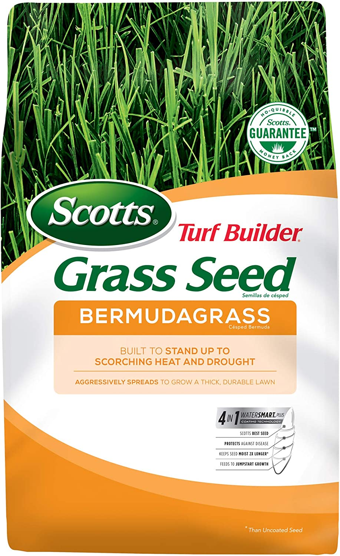 Scotts Soldering Turf Builder Grass 5 Los Angeles Mall lb Bermudagrass Seed