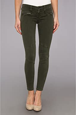 The Moto Legging in Sulfur Dark Autumn Olive