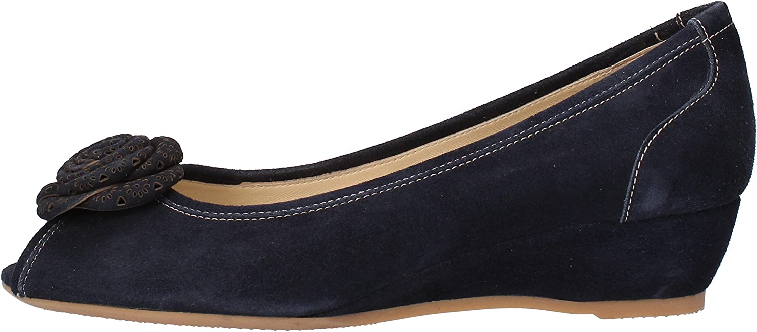 MACRI' VENEZIA Pumps-shoes Womens Suede bluee