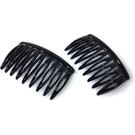 10 Stücke frauen Metall Haar Kamm Slide Seite Kämme Haarspange Haarschmuck