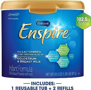美國 Enfamil美贊臣 藍臻嬰幼兒配方奶粉 適合0-12個月 (581g*1 罐+850g*2盒)
