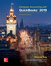 Loose Leaf for Computer Accounting with QuickBooks 2019