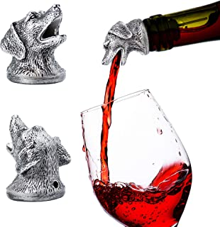 Stainless Steel Dog Wine Pourer & Aerator & Diffuser MORE ANIMALS AVAILABLE