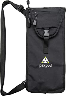 Pakpod Adventure Tripod Bag - Deluxe Carrying Case with Accessory Storage & Strap