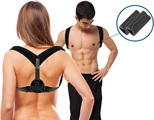 high quality Back Support Brace & Posture Corrector for Men, Women & Teens, an Ultimate Solution for Slouching, Kyphosis, Back & Neck high quality Pain Relief, with Free Underarm Pads sale by Amazing Prime outlet online sale