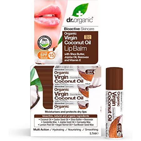 Dr Organic Coconut Oil Lip Balm - Balsamo Labbra 5,7 ml