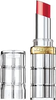 L'Oreal Colour Riche Shine Lipstick, Enamel Red 0.1 oz