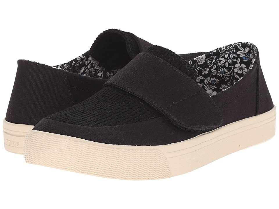 TOMS Altair Slip-On (Black Canvas) Women