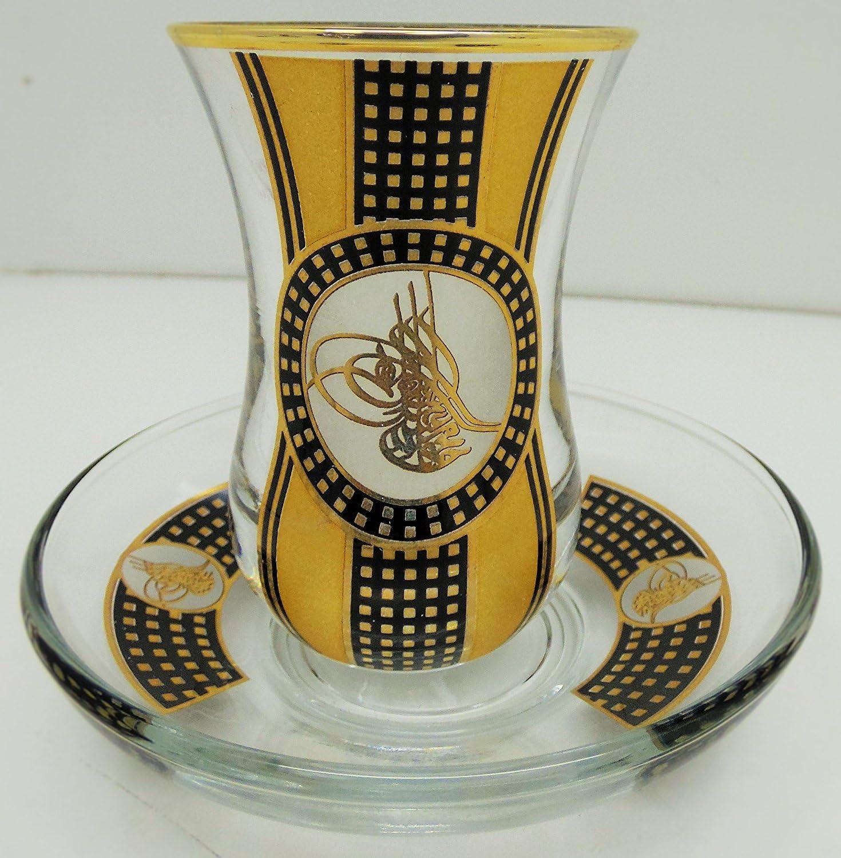 sale Emir Glass Lux Hand Made Tea Ottoman Gla