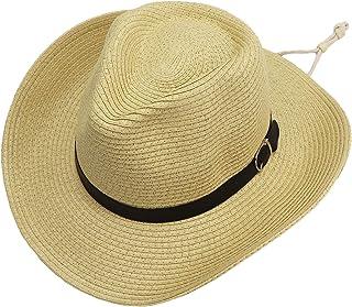 jiaoji الصيف شاطئ بنما قبعات الشمس للرجال والنساء واسعة حافة راعية البقر سترو قبعة رعاة البقر