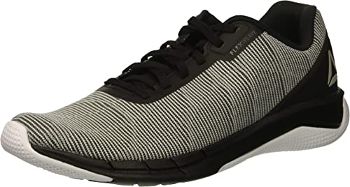 Reebok Men's Fast Flexweave Running schuhe, Weiß Alloy tin grau blac, 9.5 M US