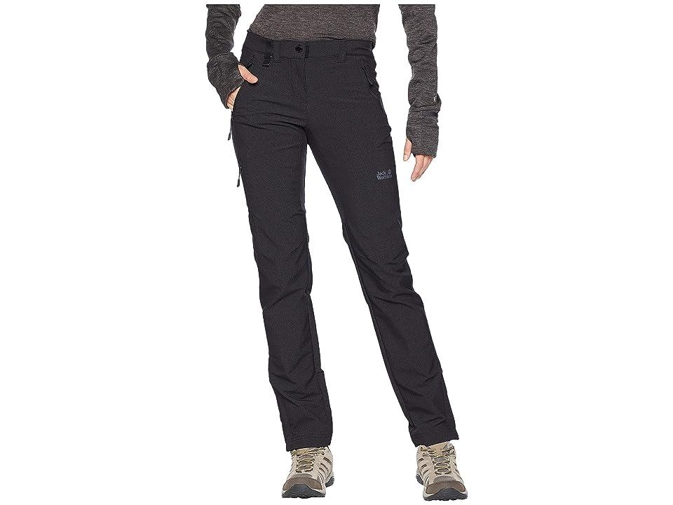 Jack Wolfskin Activate Sky Pants (Black) Women