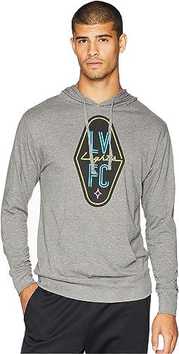 Las Vegas Lights FC Logo Hoodie