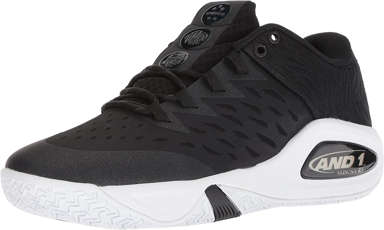 AND1 Men's Attack Low Basketball shoes