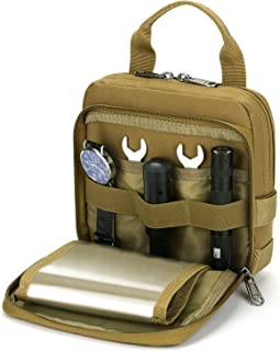 Barbarians Tactical Admin Pouch, MOLLE Military Tool Map Bag Organizer