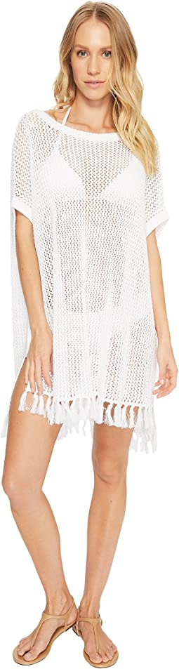Slouchy Beach Sweater Cover-Up