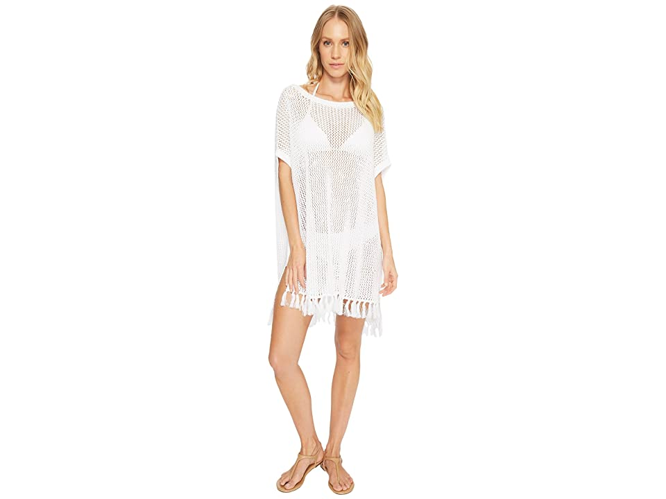 Tommy Bahama Slouchy Beach Sweater Cover-Up (White) Women