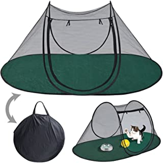 """Pet Fun House Cat Dog Playpen Portable Exercise Tent with Carry Bag 189x90x78cm(74.4""""x35.5""""x31"""")"""