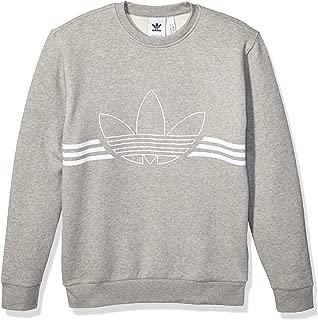 Men's Outline Fleece Crewneck Sweatshirt
