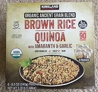 Kirkland Sinature Organic Brown Rice & Quinoa (6/8.5 Oz)Net Wt (51 Oz),