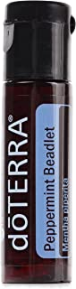 doTERRA - Peppermint Beadlet Essential Oil - Promotes Clear Breathing, Healthy Respiratory Function, and Digestive Health; for Diffusion, Internal, or Topical Use - 125 Beadlets