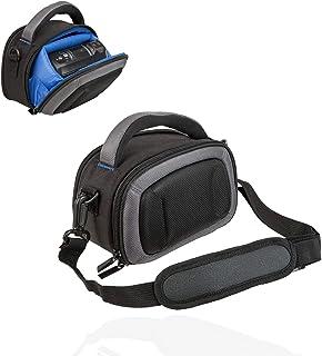 Spartechnik - Funda rígida para videocámara Panasonic HC V180 V380 V777 Sony HDR CX240E CX405 Color Negro y Azul