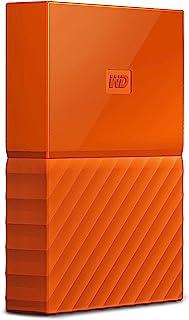 西部数据(WD)1TB USB3.0外置移动硬盘My Passport 2.5英寸 活力橙WDBYNN0010BOR-WESN