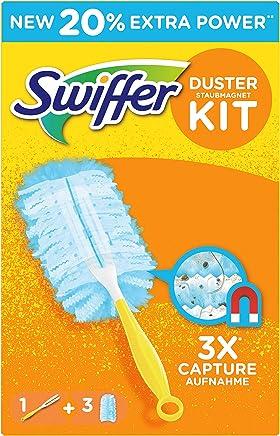 Swiffer Staubmagnet Set (1Griff und 3 Staubmagnet Tücher)