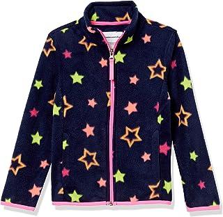 Amazon Essentials Chamarra de Forro Polar con Cierre Completa. Fleece-Outerwear-Jackets Niñas