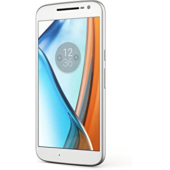 Lenovo Moto G4 SIM Doble 4G 16GB Color Blanco: Amazon.es: Electrónica