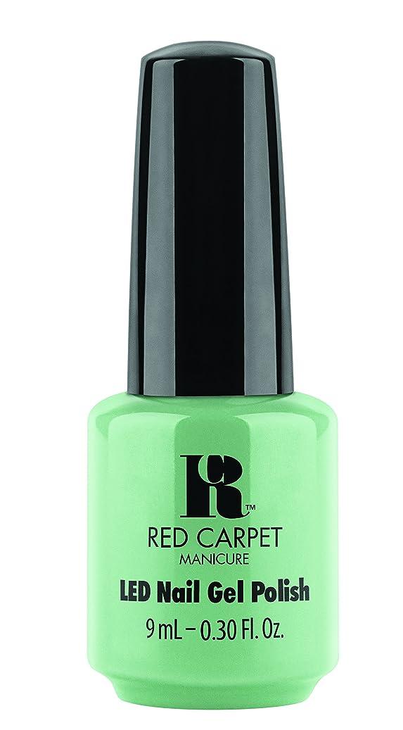 九時四十五分許容どこでもRed Carpet Manicure - LED Nail Gel Polish - Santorini Martini - 0.3oz/9ml