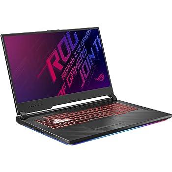 "Asus ROG Strix G (2019) Gaming Laptop, 17.3"" IPS Type FHD, NVIDIA GeForce GTX 1650, Intel Core i7-9750H, 16GB DDR4, 512GB PCIe Nvme SSD, RGB KB, Windows 10 Home, GL731GT-PH74"