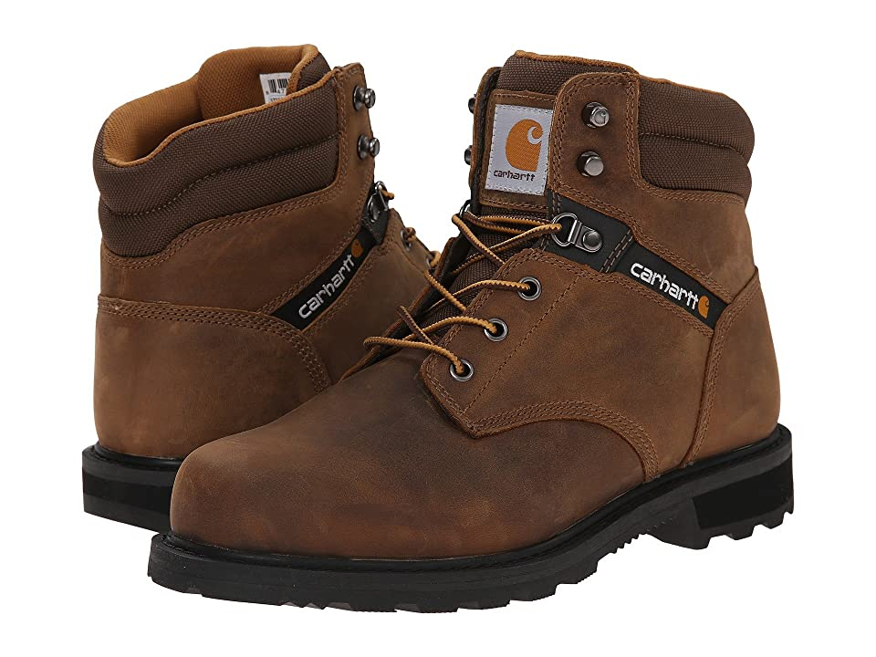 Carhartt Traditional Welt 6 Work Boot (Crazy Horse Brown Leather) Men