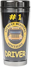 Number 1 Bus Driver, Student Delivery Specialist 16 Ounce Stainless Steel Travel Tumbler Mug