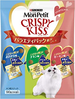 モンプチ クリスピーキッス バラエティパック 贅沢シリーズ 90g