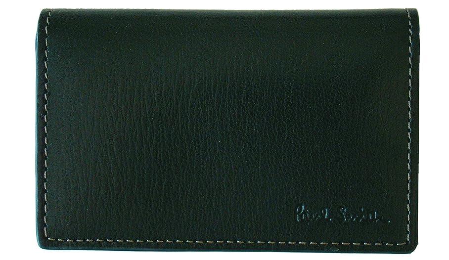 ヒール湾追記(ポールスミス) Paul Smith カラーフラッシュ 牛革 名刺入れ カードケース パスケース 定期入れ グリーン